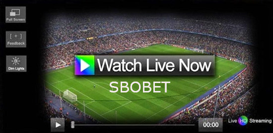 Streaming judi bola online Sbobet